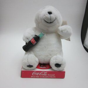 Coca Cola small plush polar bear